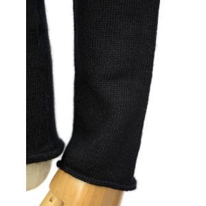 MOTHER HAND artisan【マザーハンド アルチザン】タートルネック IEPER MHa 03-LA NERO ウール アンゴラ ブラック cinqessentiel 04