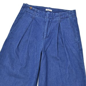 Notify【ノティファイ】ワイドデニム WBD23433 ADELE DENIM 70's BLUE コットン ブルー cinqessentiel