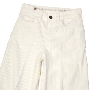 Notify【ノティファイ】コーデュロイワイドパンツ WBV26147 SILENE LARGE CORDUROY WHITE コットン ホワイト|cinqessentiel