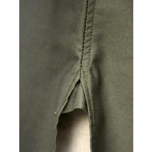 ORIAN【オリアン】サファリシャツ JARMY BE06 75 コットン オリーブ cinqessentiel 04
