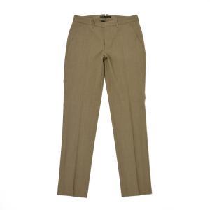 PT01 woman pants【ピーティーゼロウーノ】クロップドパンツ PO36 SOPHIE 0060 polyester wool BROWN(ブラウン)|cinqessentiel