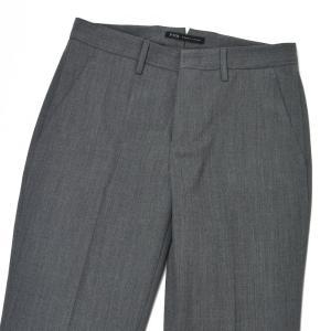 PT01 woman pants【ピーティーゼロウーノ】クロップドパンツ PO36 SOPHIE 0230 polyester wool GRAY(グレー)|cinqessentiel