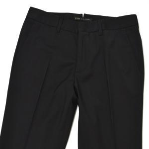 PT01 woman pants【ピーティーゼロウーノ】シガレットパンツ P035 NEW YORK 0990 ポリエステル ウール ブラック|cinqessentiel