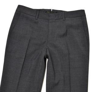 PT01 woman pants【ピーティーゼロウーノ】シガレットパンツ P035 NEW YORK 0240 ポリエステル ウール チャコールグレー|cinqessentiel