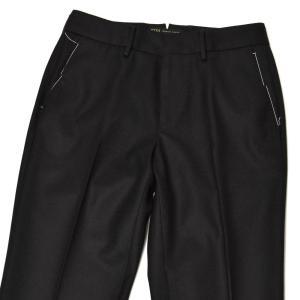 PT01 woman pants【ピーティーゼロウーノ】シガレットパンツ RG09 NEW YORK 0990 ウール ブラック|cinqessentiel