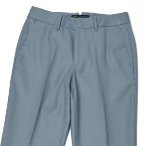 PT01 woman pants【ピーティーゼロウーノ】シガレットパンツ RG09 NEW YORK 0310 ウール ブルー|cinqessentiel