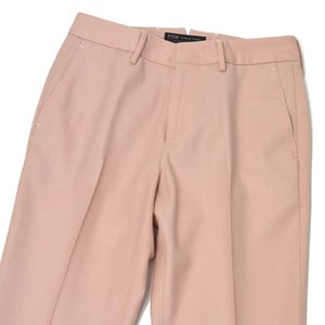 PT01 woman pants【ピーティーゼロウーノ】シガレットパンツ RG09 NEW YORK 0610 ウール ピンク|cinqessentiel