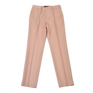 PT01 woman pants【ピーティーゼロウーノ】シガレットパンツ RG09 NEW YORK 0610 ウール ピンク cinqessentiel 02