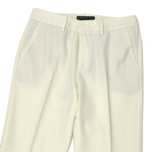 PT01 woman pants【ピーティーゼロウーノ】シガレットパンツ RG09 NEW YORK 0015 ウール ホワイト|cinqessentiel