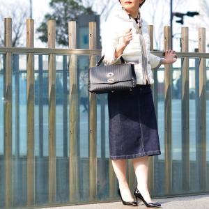 SIVIGLIA【シヴィリア/シビリア】デニムタイトスカート C41J S998 6001 コットン インディゴ|cinqessentiel|06