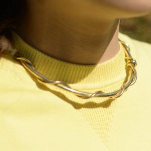 SOKO【ソコ】ネックレス  KAMBA COLLAR NECKLACE JN1820116 brass ゴールド|cinqessentiel|04