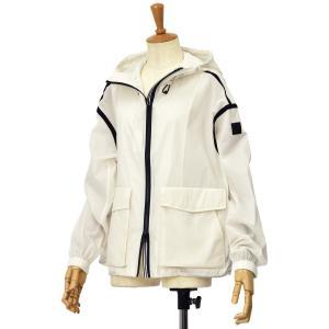 WOOLRICH【ウールリッチ】フーデッドショートジャケット CAMELIA SHORT JKT WWOU0218  800 WHITE  ナイロン ホワイト cinqessentiel