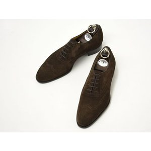 Gaziano&Girling【ガジアーノ&ガーリング】MITCHELL DG70 BROWN SUEDE(シューツリー込)|cinqueclassico
