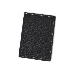 ACATE【アカーテ】マルチパスケース A026 SEGUIN A82680 BLACK ナチュラルシュリンクレザー ブラック|cinqueclassico