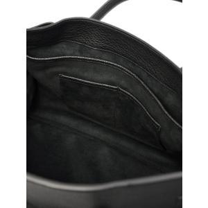 ACATE【アカーテ】別注 フラップ付きトートバック A017 OSTRO M/5 80 ナチュラルシュリンクレザー ブラック cinqueclassico 06