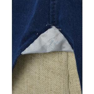 BARBA【バルバ】ドレスシャツ BRUNO I1U262519001U コットン ダンガリー インディゴ|cinqueclassico|06