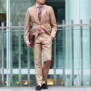 BARBA【バルバ】ドレスシャツ BRUNO I1U262U01659R コットン ロンドンストライプ ブラウン×ホワイト|cinqueclassico|09