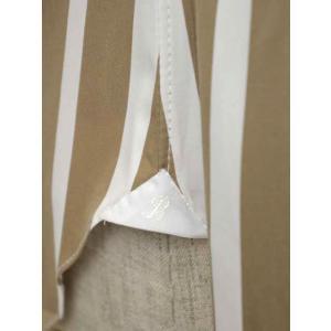 BARBA【バルバ】ドレスシャツ BRUNO I1U262U05231R コットン ストライプ ベージュ×ホワイト cinqueclassico 05