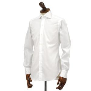 BARBA【バルバ】ドレスシャツ  JOURNEY BRUNO I1U262568101U/65 フラシ コットン ツイル ホワイト|cinqueclassico|02