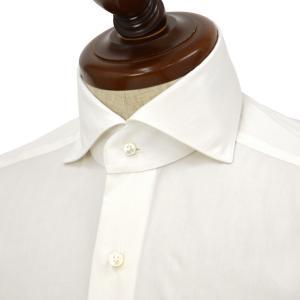 BARBA【バルバ】ドレスシャツ  BRUNO I1U262U06227U フラシ コットン ブロード ホワイト|cinqueclassico