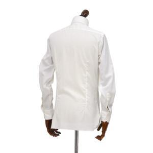 BARBA【バルバ】ドレスシャツ  BRUNO I1U262U06227U フラシ コットン ブロード ホワイト|cinqueclassico|03