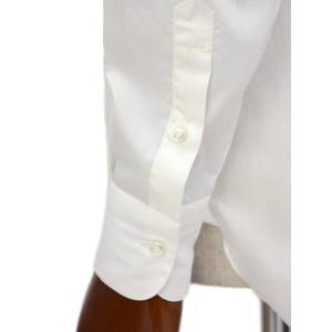 BARBA【バルバ】ドレスシャツ  BRUNO I1U262U06227U フラシ コットン ブロード ホワイト|cinqueclassico|05