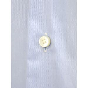 BARBA【バルバ】ドレスシャツ  BRUNO I1U262552803U フラシ コットン クレリック ツイル ブルー×ホワイト|cinqueclassico|04