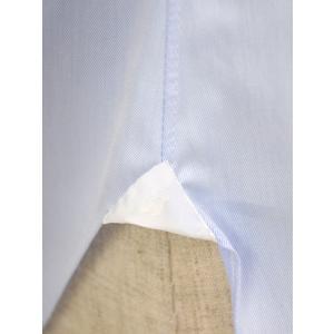 BARBA【バルバ】ドレスシャツ  BRUNO I1U262552803U フラシ コットン クレリック ツイル ブルー×ホワイト|cinqueclassico|06