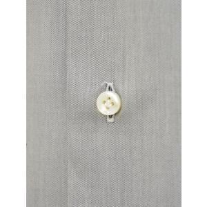 BARBA【バルバ】ドレスシャツ  BRUNO I1U262552806U フラシ コットン クレリック ツイル グレー×ホワイト|cinqueclassico|04