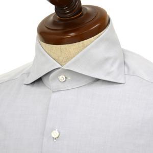 BARBA【バルバ】ドレスシャツ  BRUNO I1U262554106U フラシ コットン  グレー cinqueclassico