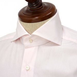 BARBA【バルバ】ドレスシャツ BRUNO I1U262568405U コットン ピンク|cinqueclassico