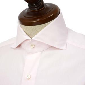BARBA【バルバ】ドレスシャツ  BRUNO I1U262570705U フラシ コットン ピンク|cinqueclassico