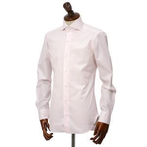 BARBA【バルバ】ドレスシャツ  BRUNO I1U262570705U フラシ コットン ピンク|cinqueclassico|02