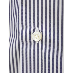 BARBA【バルバ】ドレスシャツ  BRUNO I1U262U02124U フラシ コットン ロンドンストライプ ネイビー×ホワイト|cinqueclassico|04