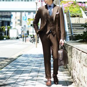 BARBA【バルバ】ドレスシャツ  BRUNO I1U262U02124U フラシ コットン ロンドンストライプ ネイビー×ホワイト|cinqueclassico|08