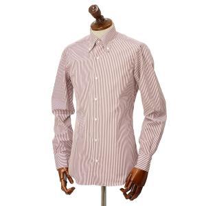 BARBA【バルバ】ドレスシャツ  BRK I1U242PZ0149U フラシ コットン ロンドンストライプ レッド×ホワイト|cinqueclassico|02