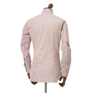 BARBA【バルバ】ドレスシャツ  BRK I1U242PZ0149U フラシ コットン ロンドンストライプ レッド×ホワイト|cinqueclassico|03