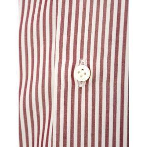 BARBA【バルバ】ドレスシャツ  BRK I1U242PZ0149U フラシ コットン ロンドンストライプ レッド×ホワイト|cinqueclassico|04