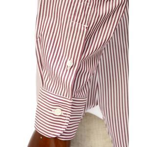 BARBA【バルバ】ドレスシャツ  BRK I1U242PZ0149U フラシ コットン ロンドンストライプ レッド×ホワイト|cinqueclassico|05