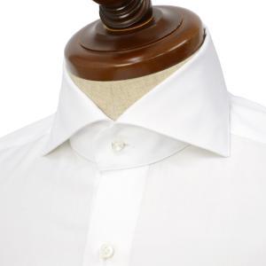 BARBA【バルバ】ドレスシャツ  BRUNO I1U262U07081U フラシ コットン オックスフォード ホワイト cinqueclassico