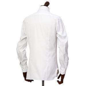 BARBA【バルバ】ドレスシャツ  BRUNO I1U262U07081U フラシ コットン オックスフォード ホワイト cinqueclassico 03
