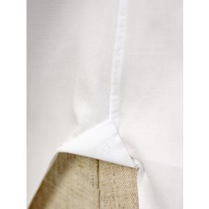 BARBA【バルバ】ドレスシャツ  BRUNO I1U262U07081U フラシ コットン オックスフォード ホワイト cinqueclassico 06