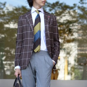 BARBA【バルバ】ドレスシャツ  BRUNO I1U262U07081U フラシ コットン オックスフォード ホワイト cinqueclassico 07