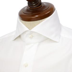 BARBA【バルバ】ドレスシャツ JOURNEY BRUNO I1U262610601U フラシ コットン ツイル ホワイト cinqueclassico
