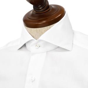 BARBA【バルバ】ドレスシャツ  BRUNO I1U26P01660501U フラシ コットン ツイル ホワイト cinqueclassico
