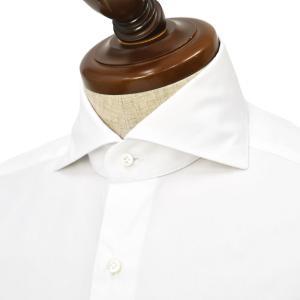 BARBA【バルバ】ドレスシャツ JOURNEY BRUNO I1U262PZ5812U フラシ コットン ツイル ホワイト cinqueclassico
