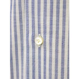BARBA【バルバ】ドレスシャツ I BRUNO I1U262466202U コットン ロンドンストライプ ブルー cinqueclassico 04