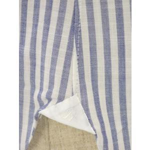 BARBA【バルバ】ドレスシャツ I BRUNO I1U262466202U コットン ロンドンストライプ ブルー cinqueclassico 05