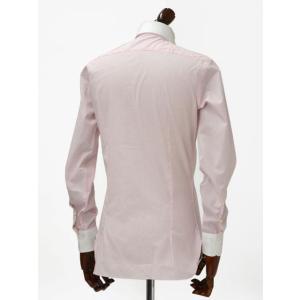 BARBA【バルバ】ドレスシャツ I BRUNO I1U262310821 コットン クレリック ストライプ ピンク×ホワイト cinqueclassico 03