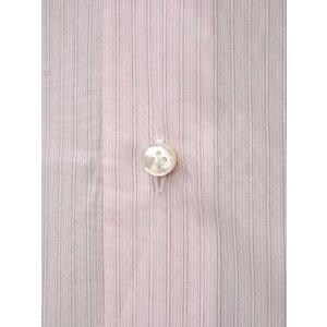 BARBA【バルバ】ドレスシャツ I BRUNO I1U262310821 コットン クレリック ストライプ ピンク×ホワイト cinqueclassico 04